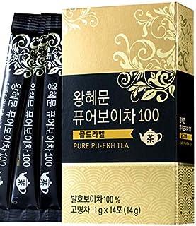 [Dr. MOON] Dr. Wang Hye Moon`s Pure Pu-erh Tea 100 Gold Label (1g x 14 packets) – 100% Pure Pu-erh Tea from Yunnan Provinc...