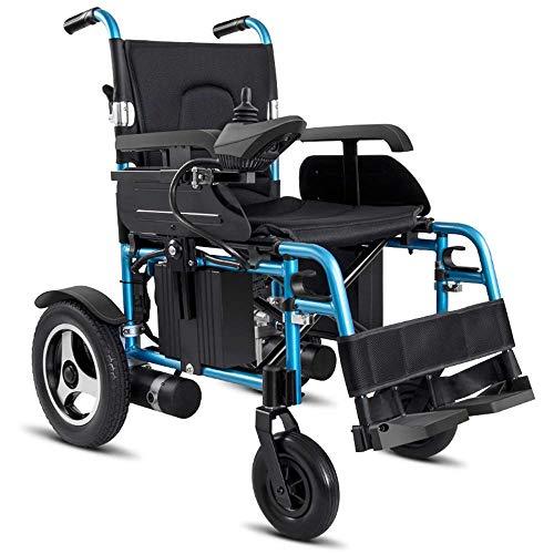 WXDP Autopropulsado Vespa Elegante discapacitada Mayor Ligera Plegable eléctrica de la aleación de Aluminio