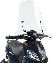 Givi 134A Parabrisas, transparente 66x 67cm (H x l) para Aprilia sportcity One 50–125(08> 11)–Aprilia sportcity cube 125–200–300(08> 11)