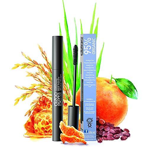 Dizao 95% Organische Feuchtigkeitsspendende Schwarze Mascara mit dem Organischen Extrakt von...