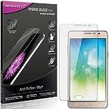 SWIDO Panzerglas Schutzfolie kompatibel mit Samsung Galaxy On5 Pro Bildschirmschutz Folie & Glas = biegsames HYBRIDGLAS, splitterfrei, MATT, Anti-Reflex - entspiegelnd