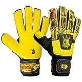 Brine King Match 3X Goalie Gloves (Hi Lite/Vivid Cactus, 7)