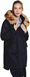 Women Parkas Winter Hooded Thick Cotton Warm Jacket Fashion Long Wadded Coat Outwear