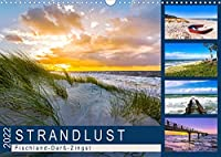 STRANDLUST: Fischland-Darss-Zingst (Wandkalender 2022 DIN A3 quer): Malerische Bilder von der Halbinsel Fischland-Darss-Zingst (Monatskalender, 14 Seiten )