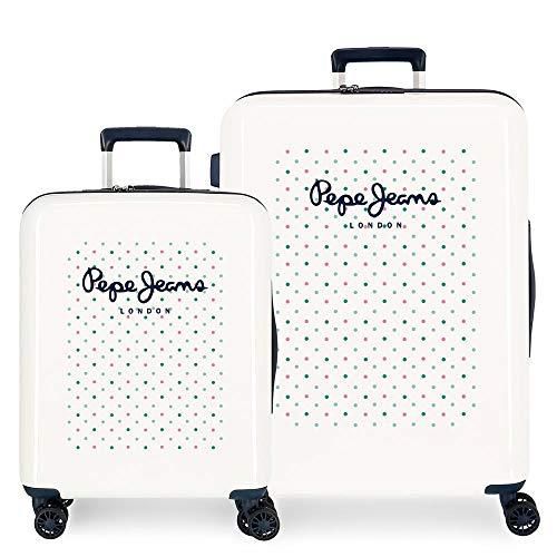 Pepe Jeans Nonette Suitcase Set, 55/70 cm