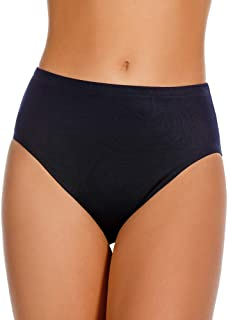 Miraclesuit Women's Swimwear Basic Swim Pant High Waist Slimming Brief Bathing Suit Bottom