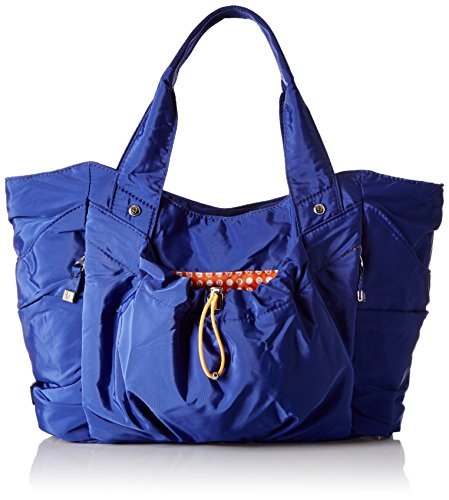 BG by Baggallini Balance Medium Coblt Tote Bag, Cobalt, One Size