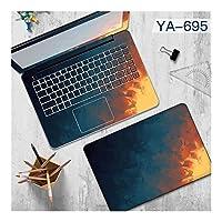 グラフィティレンダリングラップトップのステッカービニール装飾ステッカー防水コンピュータのステッカー (Colore : YA 695, Dimensione Computer Portabile di Applicazione : Send laptop model)