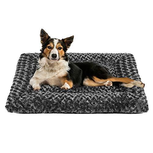 OXS Hundebett aus weichem Plüsch, Matte aus hochwertigem Kunstfell, waschbar,...
