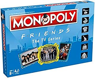 Friends Monopoly Board Game Game
