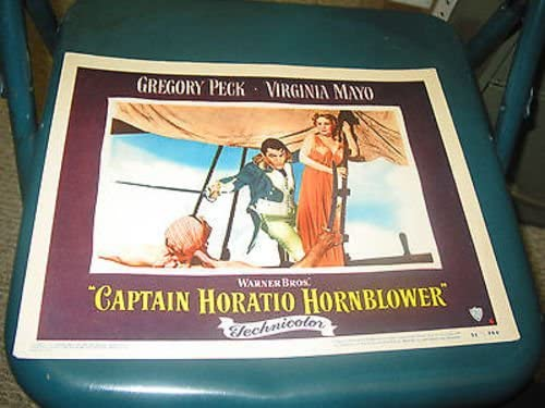 CAPTAIN HORATIO Max 45% OFF HORNBLOWER ORIG. 11X14 LOBBY All stores are sold CARD PE 4 GREGORY