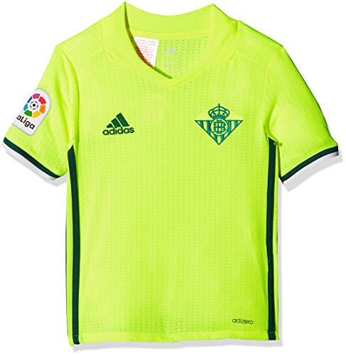 adidas - Real Betis Balompié - 3 JSY Y Camiseta, Niños, Amarillo, 140