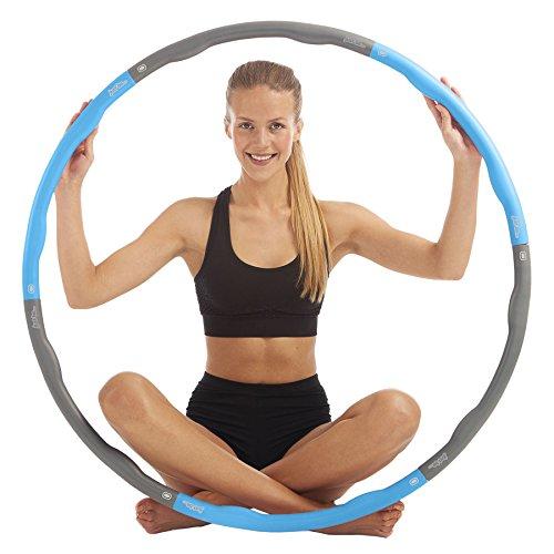 just be... Fitness-Hula-Hoop-Reifen Blau 1,5 kg