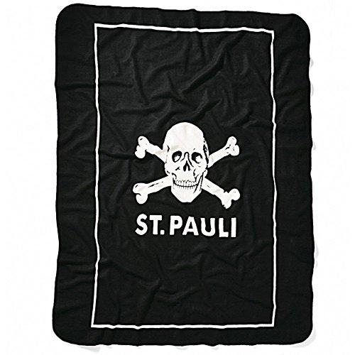 St. Pauli FC Fleecedecke Totenkopf