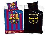 FC Barcelona Fußball Bettwäsche Bed Linen Football FCB16_1001GLOW 135x200 cm