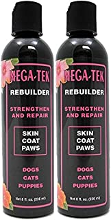 Mega-Tek Pet Rebuilder, 16 Ounces - Strengthens and Repairs Pet Coats and Pads