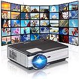 CAIWEI Proyectores de video inalámbricos de 4000 lúmenes Compatibles con...