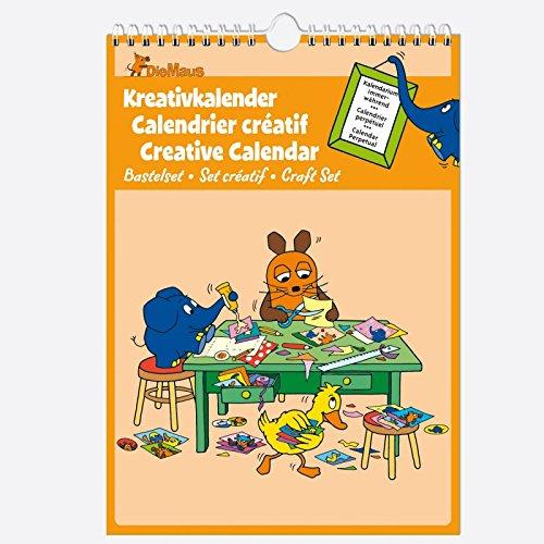 Baier & Schneider Bastelkalender Kreativkalender-Set immerwährend