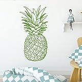 yaofale Patrón de Pino diseño de Fruta habitación Infantil Fondo Etiqueta de la Pared Vinilo extraíble Etiqueta de la Pared Impermeable Art Deco Wallpaper