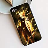 Anime Naruto Hokage Sasuke Kakashi Carcasas para iPhone 11 Pro XR XS MAX X 7 8 6 S Plus 11Pro SE 2020 Vidrio Templado Fundas Capa-Photo_Color_XR