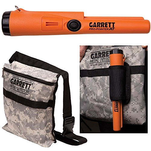 New Garrett Pro Pointer AT Metal Detector Waterproof ProPointer with Garrett Camo Pouch