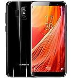HOMTOM S7 - 5.5 pulgadas (proporción de 18: 9) pantalla completa Android 7.0 4G ultra delgado smartphone, 3 GB de RAM 32 GB ROM Quad Core cámara triple (8MP + 2MP + 13MP) - Negro