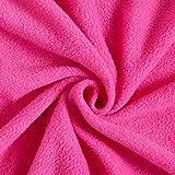 Antipilling Fleece – pink — Meterware ab 0,5m — zum Nähen von Tagesdecken, Decken & Homeaccessoires