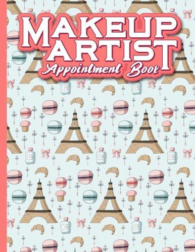 Makeup Artist Appointment Book: 2 Columns Appointment Organizer, Client Appointment Book, Scheduling Appointment Calendar: 16