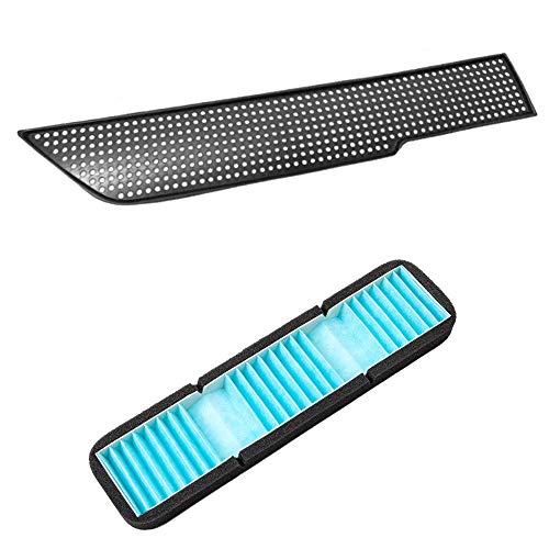Milkvetch Filtro de Aire para Tesla Model 3, Cubierta Decorativa de VentilacióN de Flujo de Aire, Accesorios para AutomóViles, Antibloqueo para Model 3, ProteccióN de AdmisióN