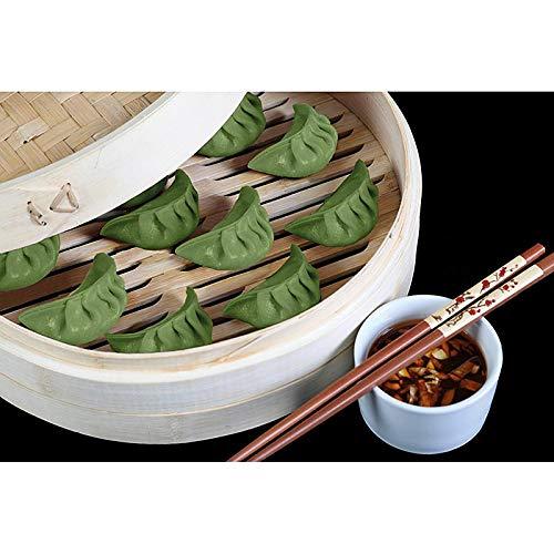 Yumbau Dimsum - Grün (Teigtaschen mit Steinpilze & Weißkraut), vegan, TK, 500 g, 24 St.