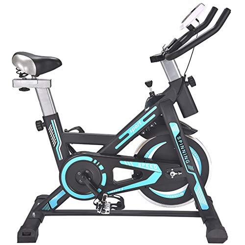 New YD-zx Exercise Bike Stationary, Professional Indoor Cycling Bike Adjustable Resistances, Home Fi...