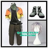 コスプレ衣装+ウイッグ+靴 ファイナルファンタジーXIII FFXIII、FF13 ホープ・エストハイム (Hope Estheim) cosplay