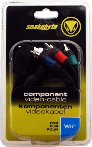 Component-Video-Cable -black- Komponenten-Video-Kabel - [Nintendo Wii, Wii U]