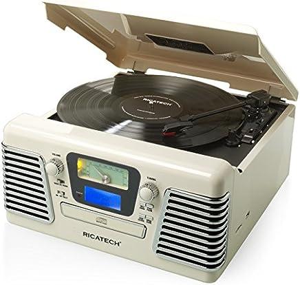 Amazon.es: tocadiscos - Ricatech / Tocadiscos / Receptores y ...