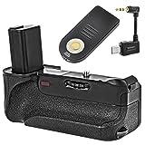 Impulsfoto Minadax® Batteriegriff mit Infrarotauslöser - und Schnittstelle kompatibel mit Sony A6000-100% kompatibel & passgenaue Form