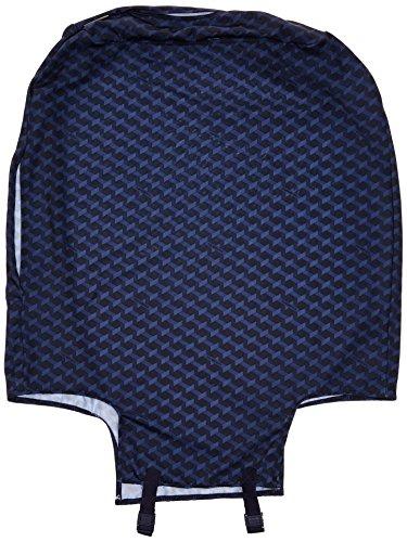 Samsonite Housse de Protection pour Valise M Anti-Pluie, 22 cm, Bleu Jacquard