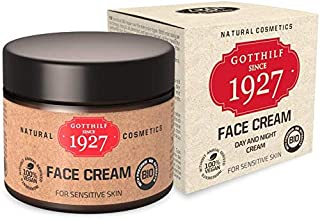 Gotthilf 1927 Face Cream | Cosmética 100% Natural | Crema Facial de Día y Noche | Fuente Natural de Ácido Hialurónico | Ac...