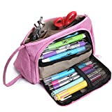 Pencil Case for Girls, Pink, Pencil Bag, Cute Pencil Case, Pouch Bags, School Supplies for Teen Girls, Pen Pouch, School Stuff, Pencil Pouches, Pen Bag, Pencil Bag for Women, Pencil Pouch for Girls