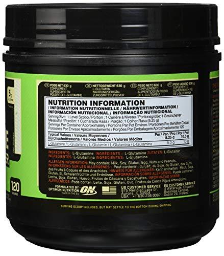 Optimum Nutrition Glutamine Powder, 1er Pack (1 x 600 g) - 3