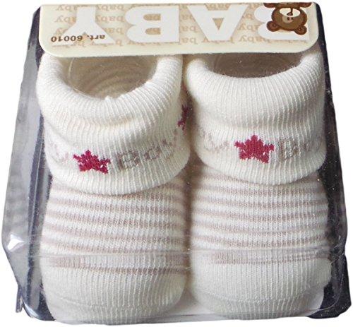 Apollo Baby Erstling Socken Boy - Braun/Beige/Mehrfarbig