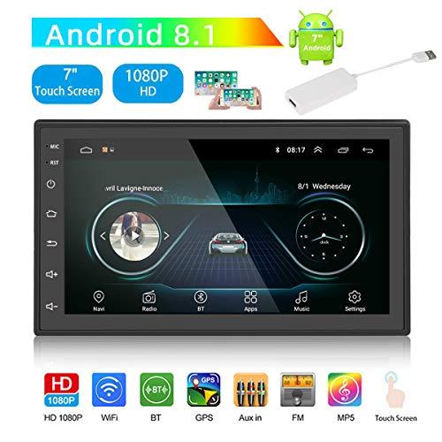 GOFORJUMP Android 8.1 autoradio stereo navigatie GPS Bluetooth FM WiFi Universal 7 inch 2din autoradio stereo multimedia met module