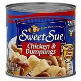 Sweet Sue Chicken & Dumplings 20oz 6 Pack