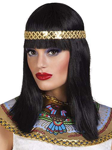 Boland 85798 Perruque Kleopatra Noir Taille Unique