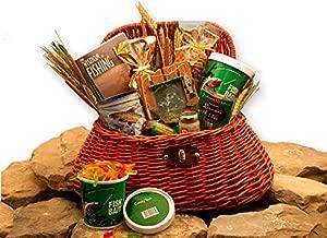 Fishing Gift Basket - Fishing Gift basket For Men full of snacks