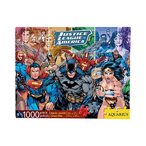 AQUARIUS Liga de la Justicia de América, puzle de 1000 Piezas DC Comics
