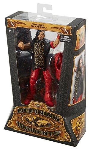 """WWE Defining Moments Shinsuke Nakamura Figure, 6"""""""