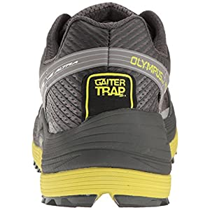 Altra Men's Olympus 2.5 Running-Shoe, Gray/Lime, 9.5