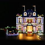 LIGHTAILING Conjunto de Luces Compatible con Lego 41684 Friends Heartlake City Grand Hotel Modelo de Construcción de Bloques - NO Incluido en el Modelo