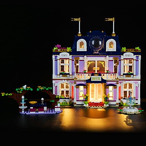 LIGHTAILING Set di Luci Compatibile con Lego 41684 Friends Heartlake City Grand Hotel Modello da Costruire - Non Incluso nel Modello
