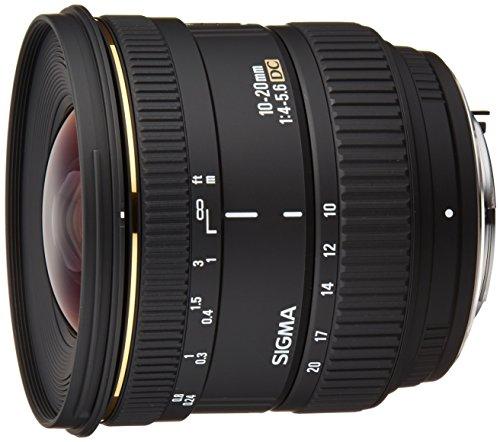 Sigma 10-20 mm F4,0-5,6 EX DC Objektiv (77 mm Filtergewinde) für Pentax Objektivbajonett